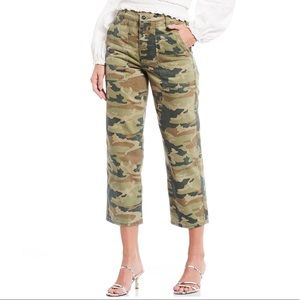 NWT Free People Remy Camouflage Pants